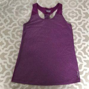 Head purple workout tank